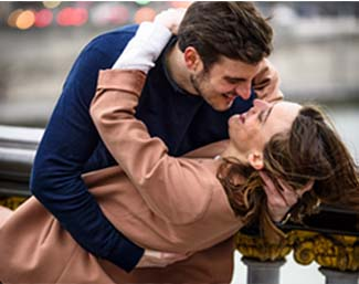 Jorge y Eva, están juntos desde hace un año
