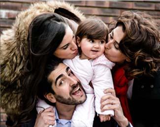 Eva et Joseph, un portrait de famille avec petits et grands