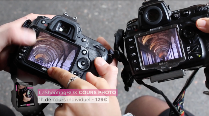 coffret cadeau cours photo LaShootingBOX